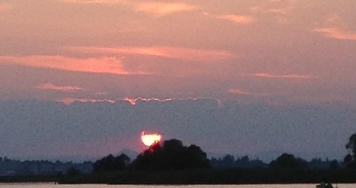 sunset sad